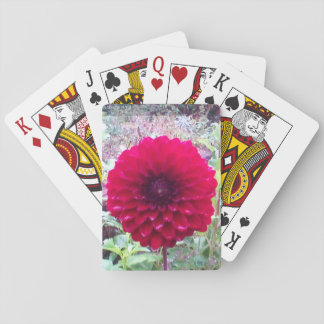 Wild Flower Poker Deck