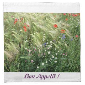 Wild Flowers 2 - Bon Appetit - Napkins