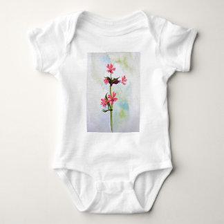 Wild flowers baby bodysuit