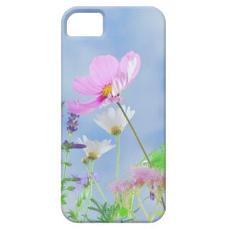 Wild Flowers Blue Sky Case For The iPhone 5