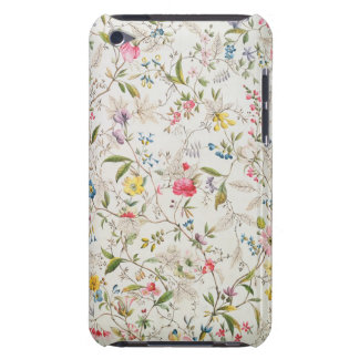 Wild flowers design for silk material, c.1790 (w/c barely there iPod cover