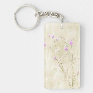 Wild Flowers Keychain