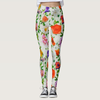 Wild Flowers Leggings