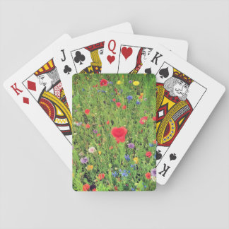 Wild flowers Spring Photo Classic Playing Cards