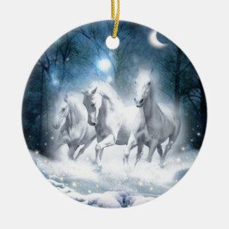 Wild Flurry Christmas Ornament