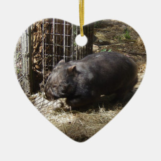 Wild For Wombats Christmas Ornament