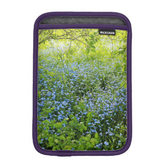 Wild forge me nots flowers photo iPad mini sleeve