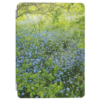 Wild forget me nots flowers photo iPad air cover
