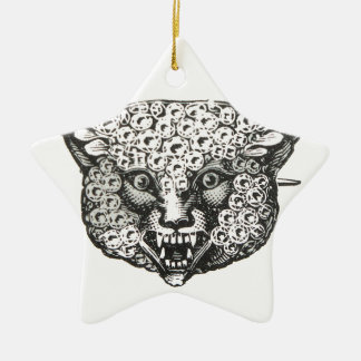 wild fox christmas ornament