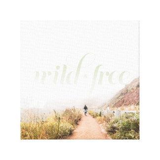 "Wild & Free 12"" x 12"" Canvas Print"