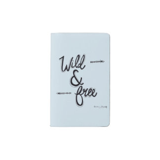 Wild & Free Pocket Moleskine Notebook