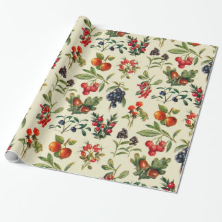 Wild Fruits Of The Countryside Wrapping Paper