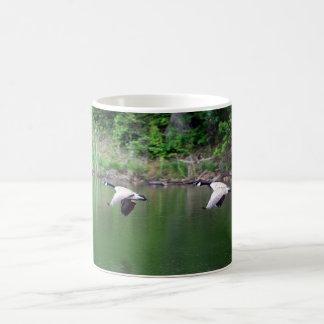Wild Geese Flying - Customized Coffee Mug