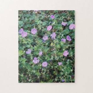 Wild Geraniums Jigsaw Puzzle