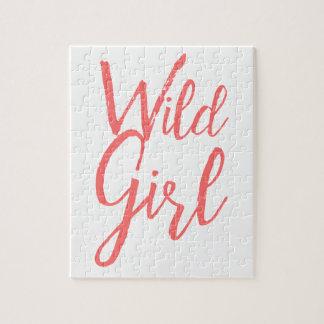 Wild Girl Feminist Puzzle