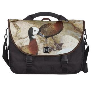 Wild Golden Hybrid Ducks Commuter Bag