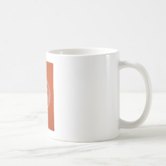 Wild Goose Circle (orange) Coffee Mug