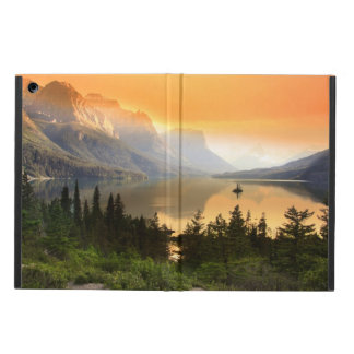 Wild goose island in Glacier national park iPad Air Cases