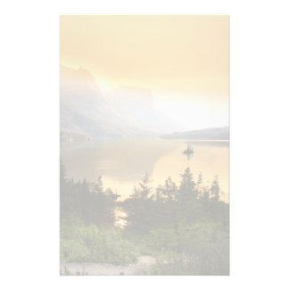 Wild goose island in Glacier national park Stationery Paper
