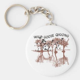 Wild Goose Qigong Key Ring