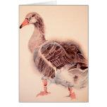 Wild Goose Watercolor Love Card