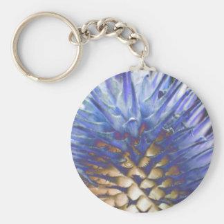 Wild Grass Blue Flame Keychain