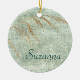 Wild Grass Christmas Ornament