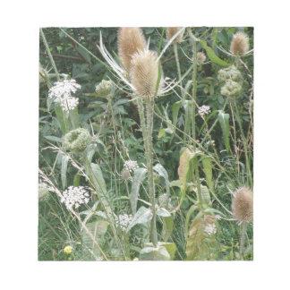 Wild Grasses Notepad