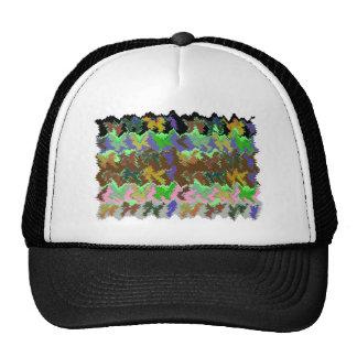 Wild Green Jungle Trucker Hat