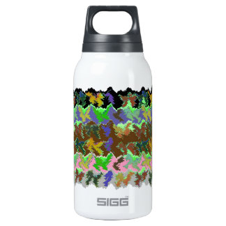 Wild Green Jungle 10 Oz Insulated SIGG Thermos Water Bottle
