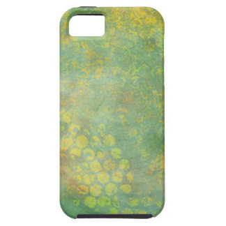 Wild Green Spots Grungy Cool iPhone 5 Cover