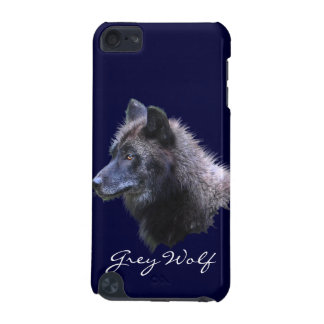 Wild Grey Wolf Wildlife-Supporter Ipod Case