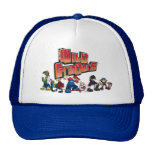 WILD GRINDERS CREW TRUCKER HAT caps