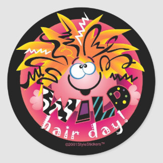 WILD Hair Day StyleStickers™ Stickers