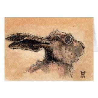 Wild Hare Card