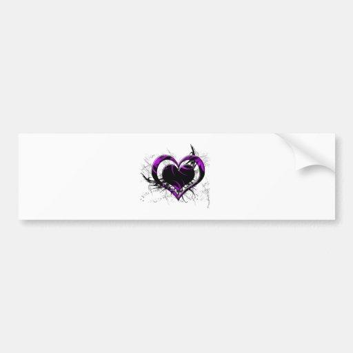 Wild Heart Bumper Sticker