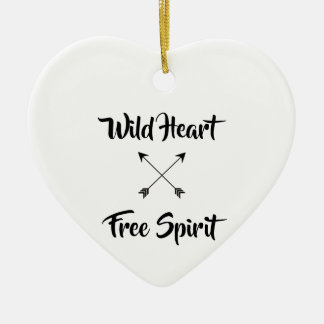 Wild Heart & Free Spirit Christmas Ornament