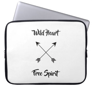 Wild Heart & Free Spirit Laptop Sleeve