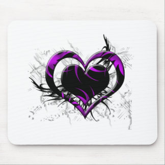 Wild Heart Mouse Pads