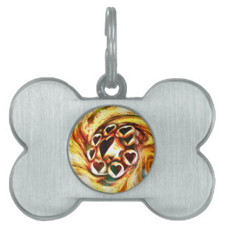 Wild Hearts Pet ID Tag