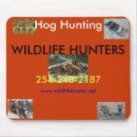 Wild Hog Hunting mousepad