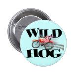 Wild HOG! Pins