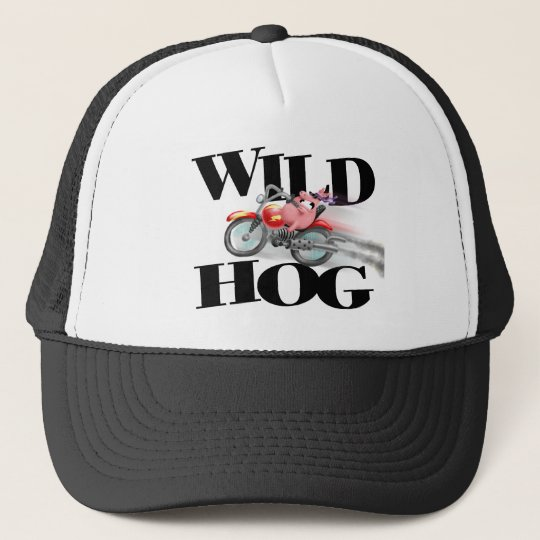 Wild Hog Trucker Hat