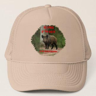 Wild Hogs Of The South,Author Richard Schamber Trucker Hat