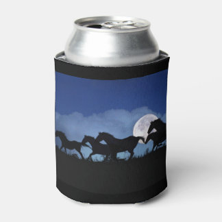 Wild Horse and Moon Cozy Cup Can Cooler
