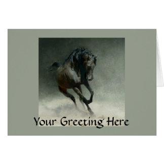 Wild Horse Card
