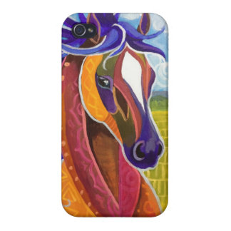 Wild Horse Case Savvy iPhone 4 Glossy Finish iPhone 4 Cases