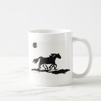 Wild Horse in Ink Coffee Mugs