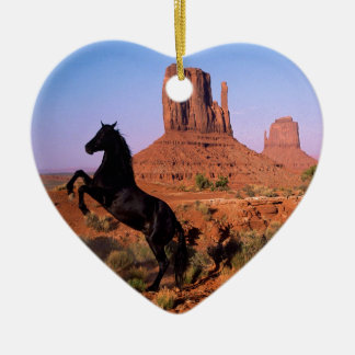 Wild Horse Monument Valley Christmas Ornament