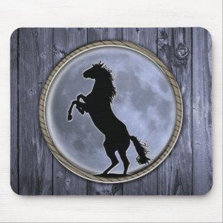 Wild Horse Moon Mousepad